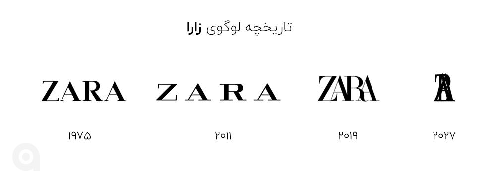 لوگوی زارا