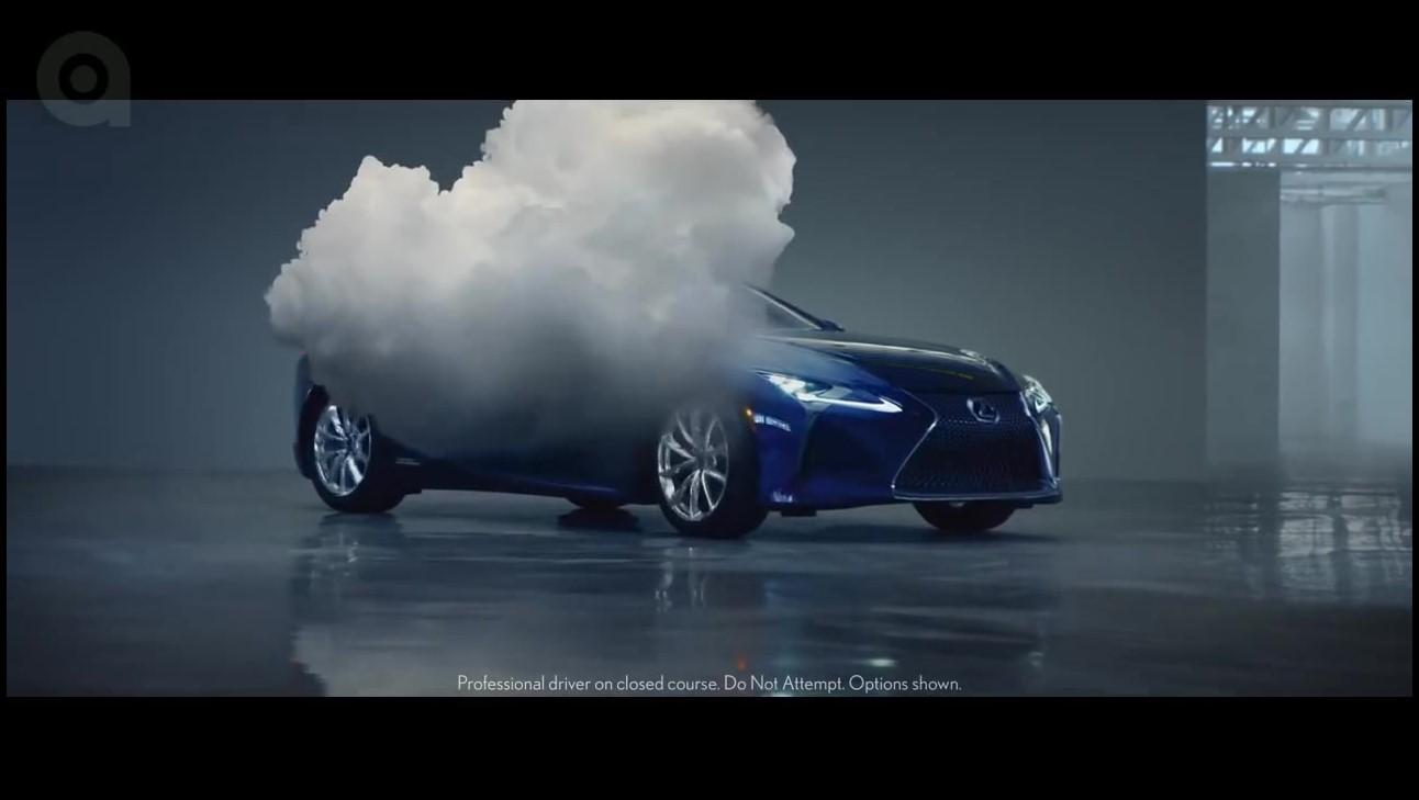 تیزر تبلیغاتی لکسوس: ابری با احتمال بارش حقیقت