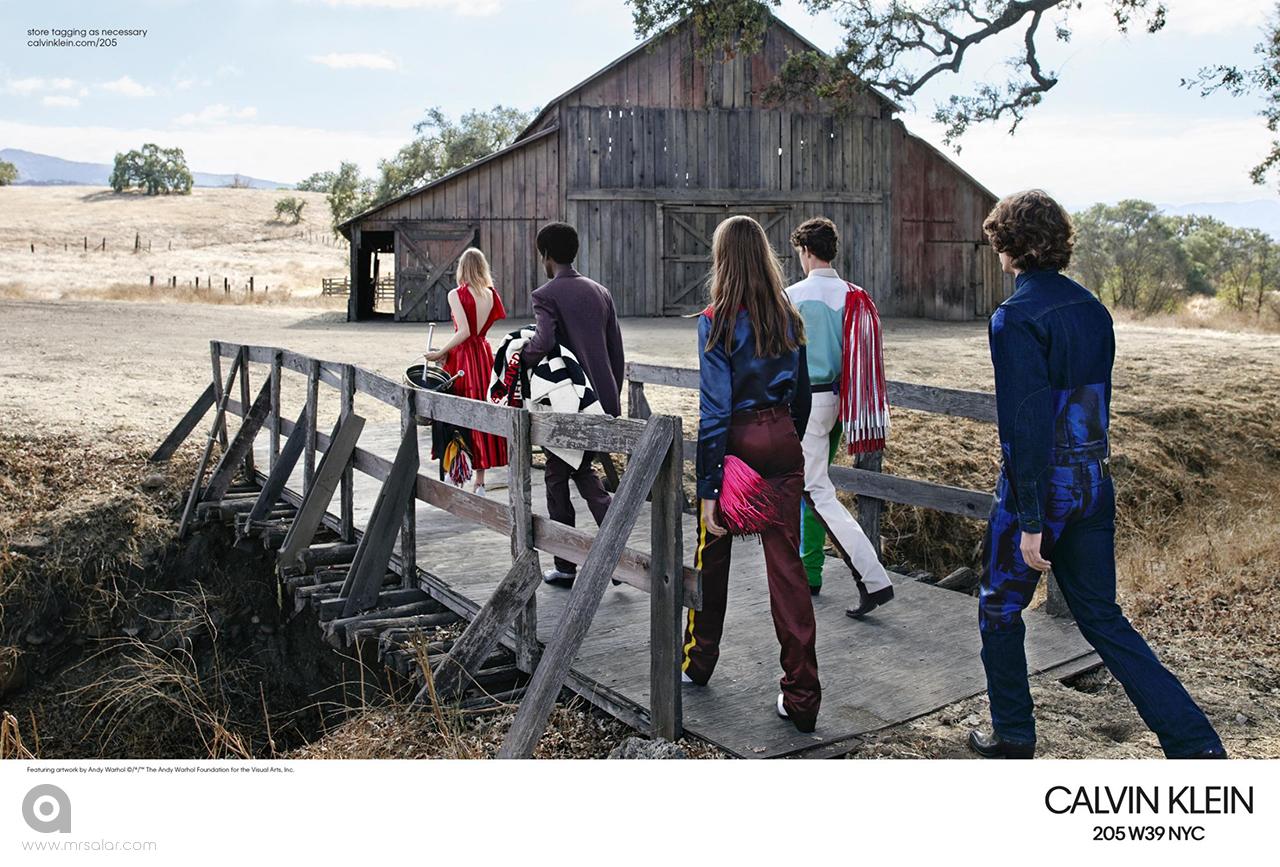 تصویر تبلیغاتی کلوین کلاین: رویاهای شیرین ۱