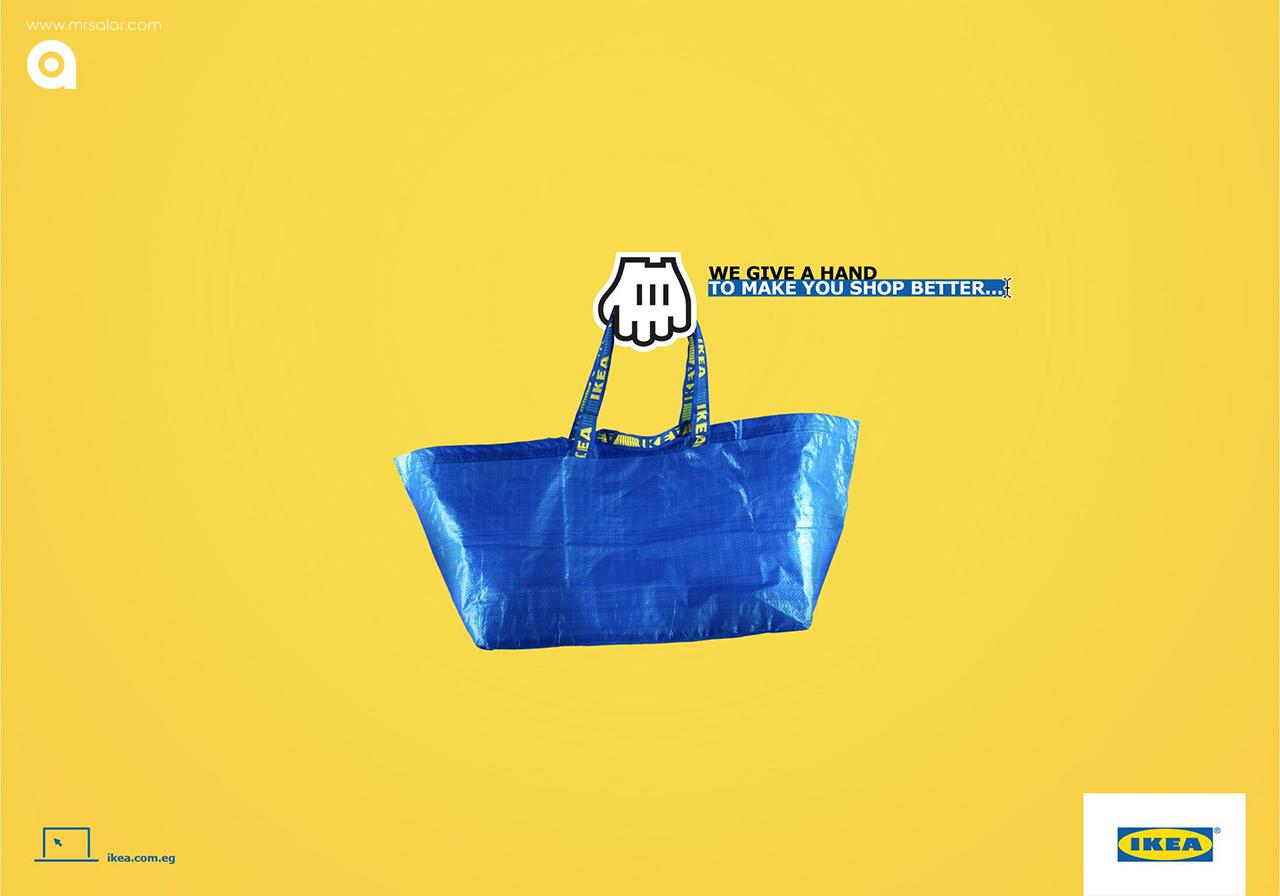 تصویر تبلیغاتی IKEA: تجارت جهانی ۱
