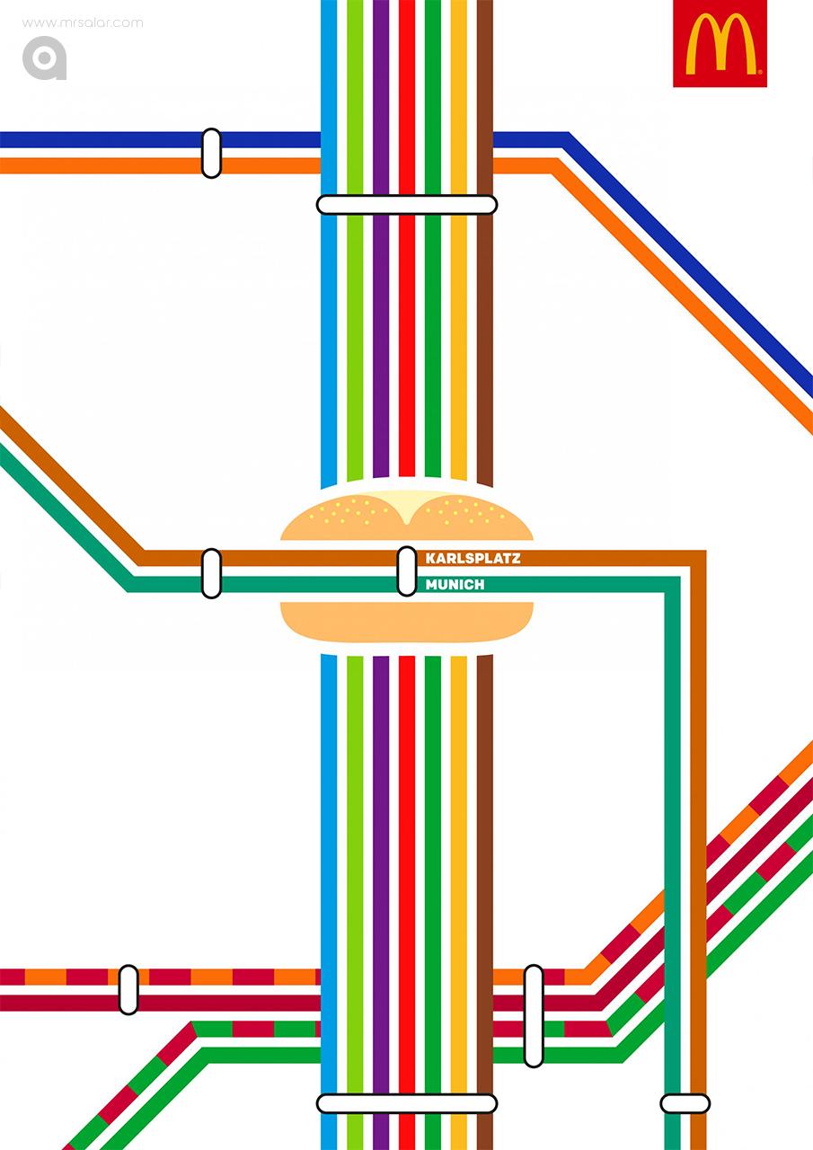 تصویر تبلیغاتی مکدونالد مکاستیشن: مونیخ
