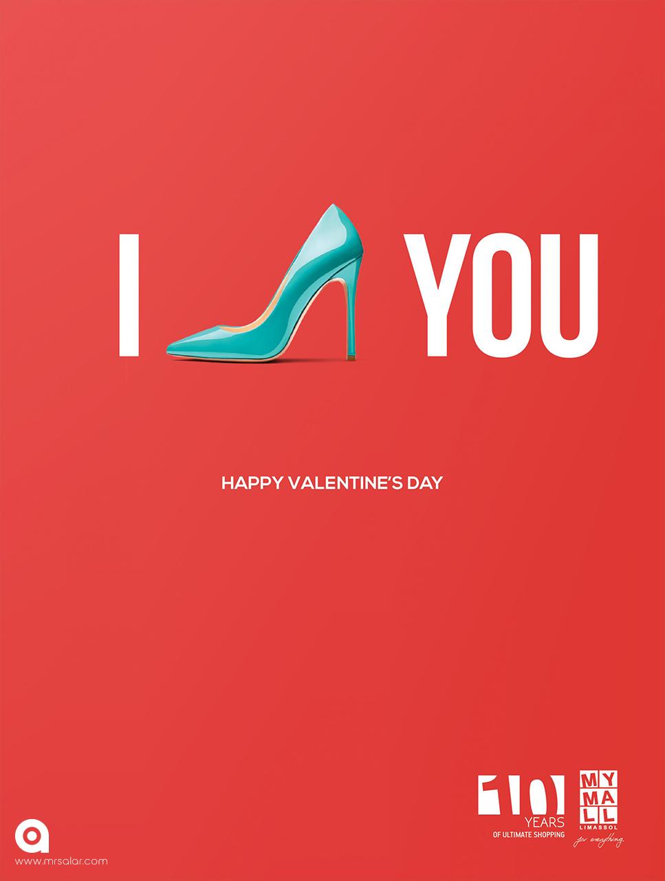تصویر تبلیغاتی ولنتاین: دوستت دارم ۱