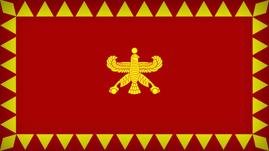 تاریخچه پرچم ایران در زمان هخامنشیان