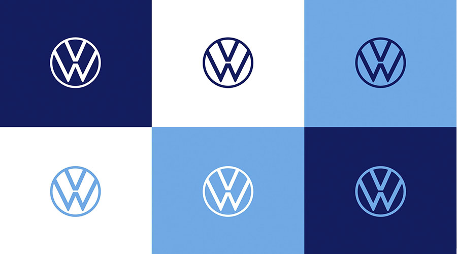 لوگوی جدید فولکس واگن
