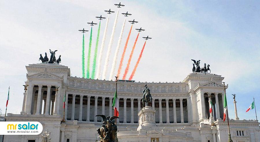 بزرگ داشت روز ملی ایتالیا